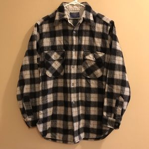 Pendleton Wool Flannel Button Down Shirt